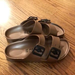 Brand new never worn Birkenstock sandals
